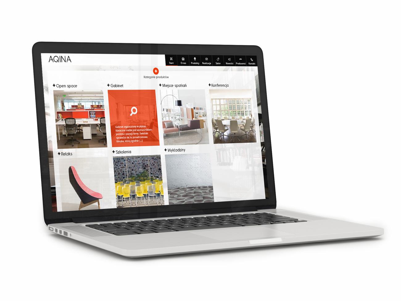 Aqina - nowa strona www