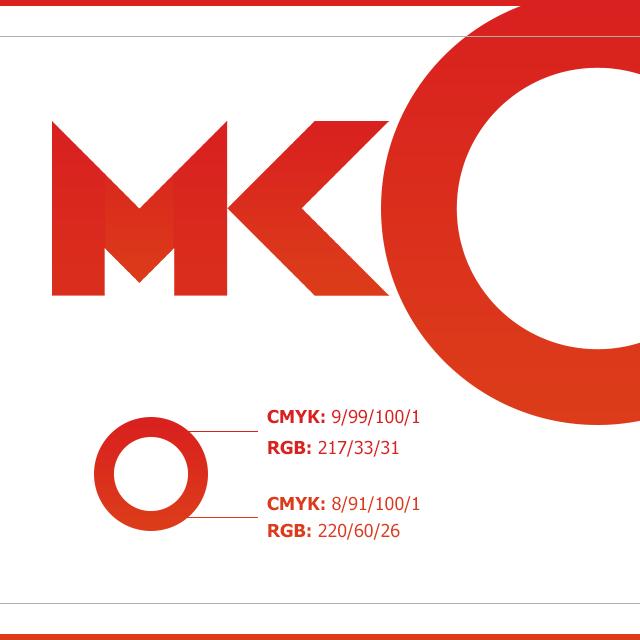 MK Construction - identyfikacja wizualna