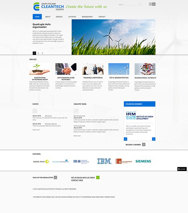 South Poland Cleantech - strona www