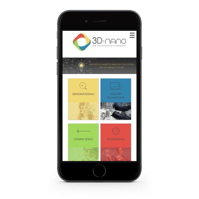 Strona internetowa zaprojektowana pod kątem telefonu
