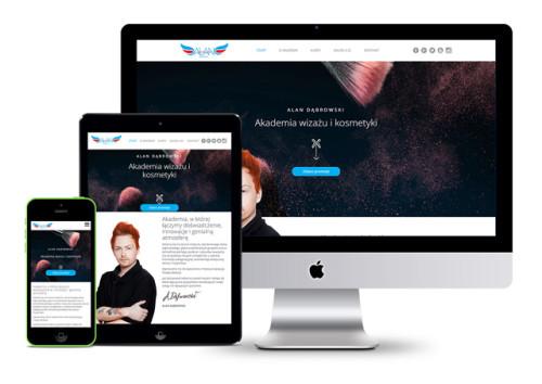 Projekt nowoczesnej strony internetowej - Alan Dąbrowski