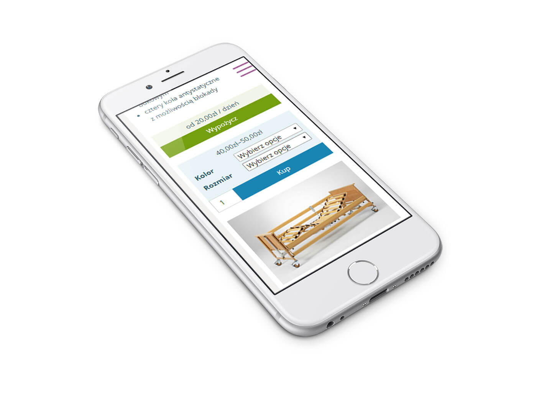 Mobilna wersja sklepu internetowego Artro-Med