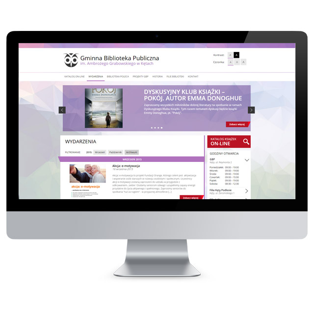 Mockup strony www