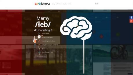 Top menu, główne menu przyklejone dogórnej krawędzi ekranu