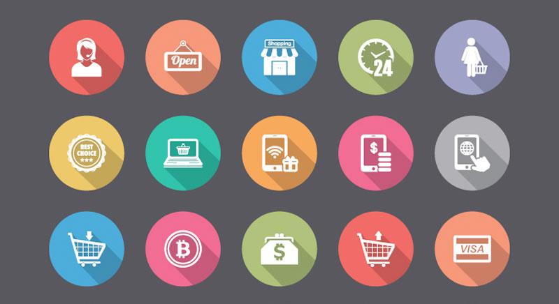 Użycie ikon w projektowaniu stron internetowych