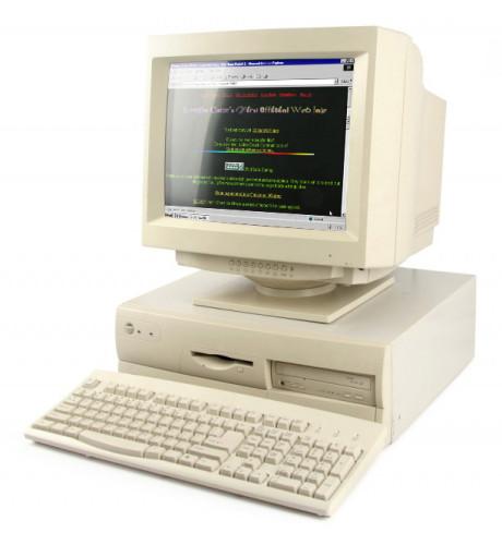 Internet w latach 90-tych