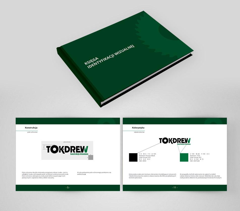 Tokdrew - corporate identity