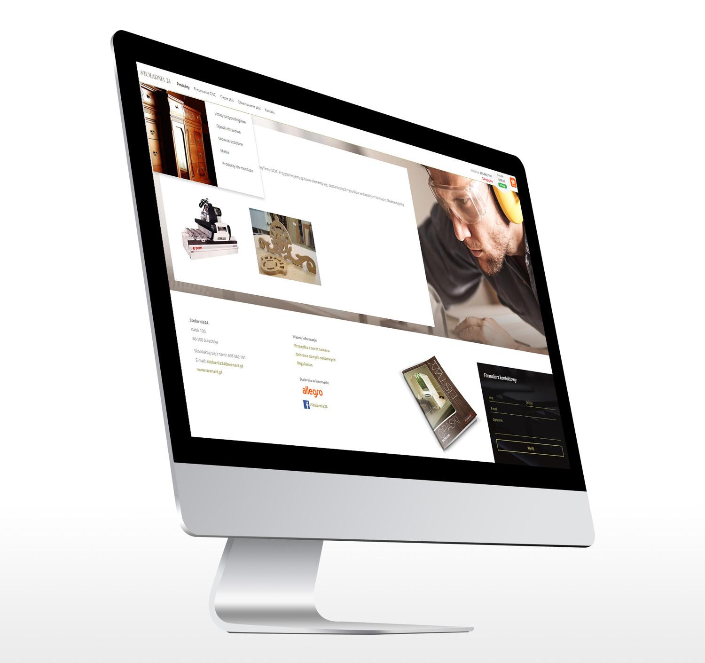 Sklep internetowy ecommerce Stolarnia24 Wenart