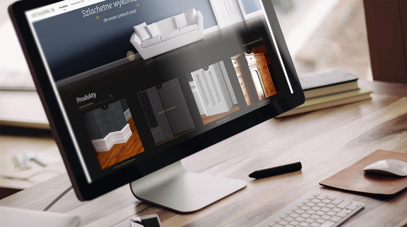 Stolarnia24 - sklep internetowy, nowoczesne narzędzie e-commerce