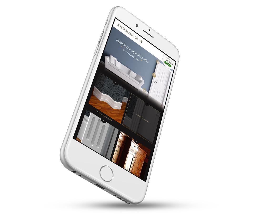 Stolarnia24 - sklep internetowy na telefonie