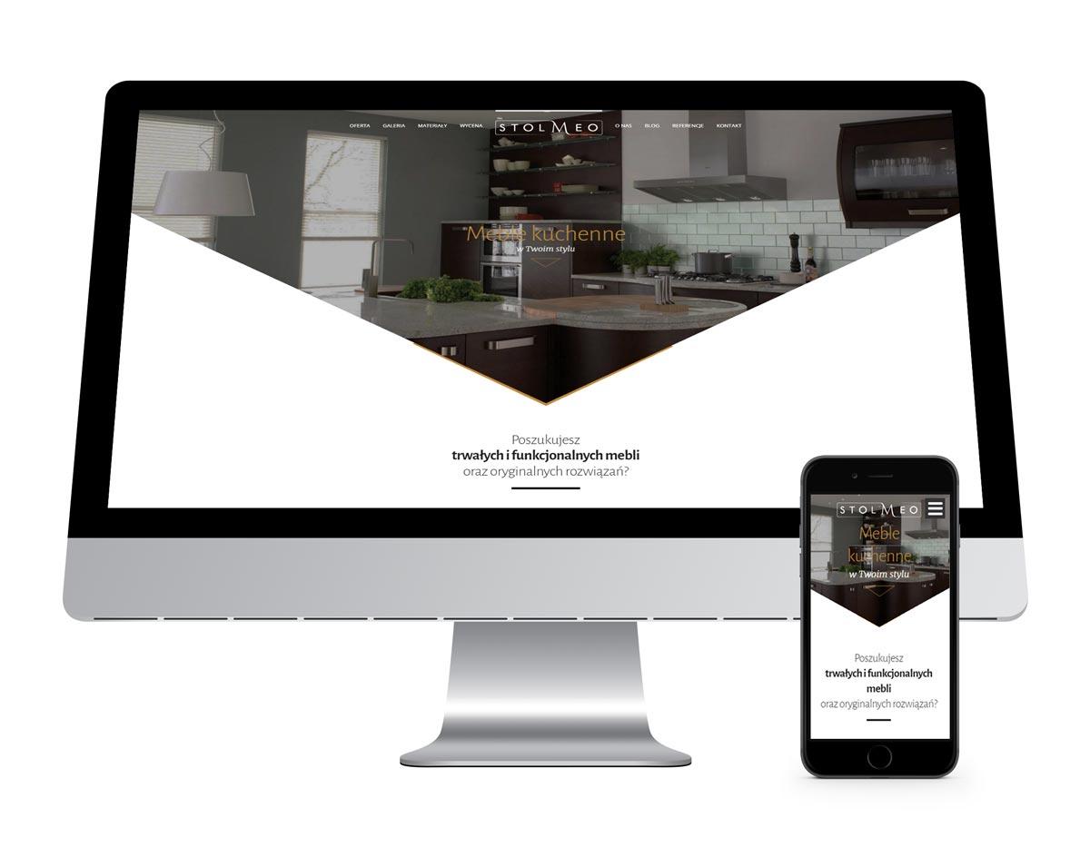 Stolmeo - strona www responsywna, RWD