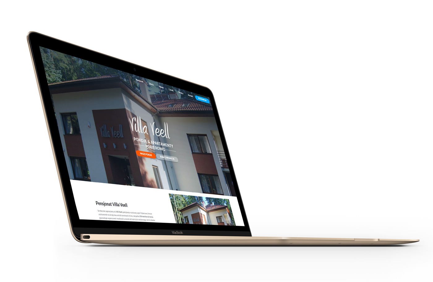 Pensjonat Pobierowo - Villa Veell - nowa strona internetowa