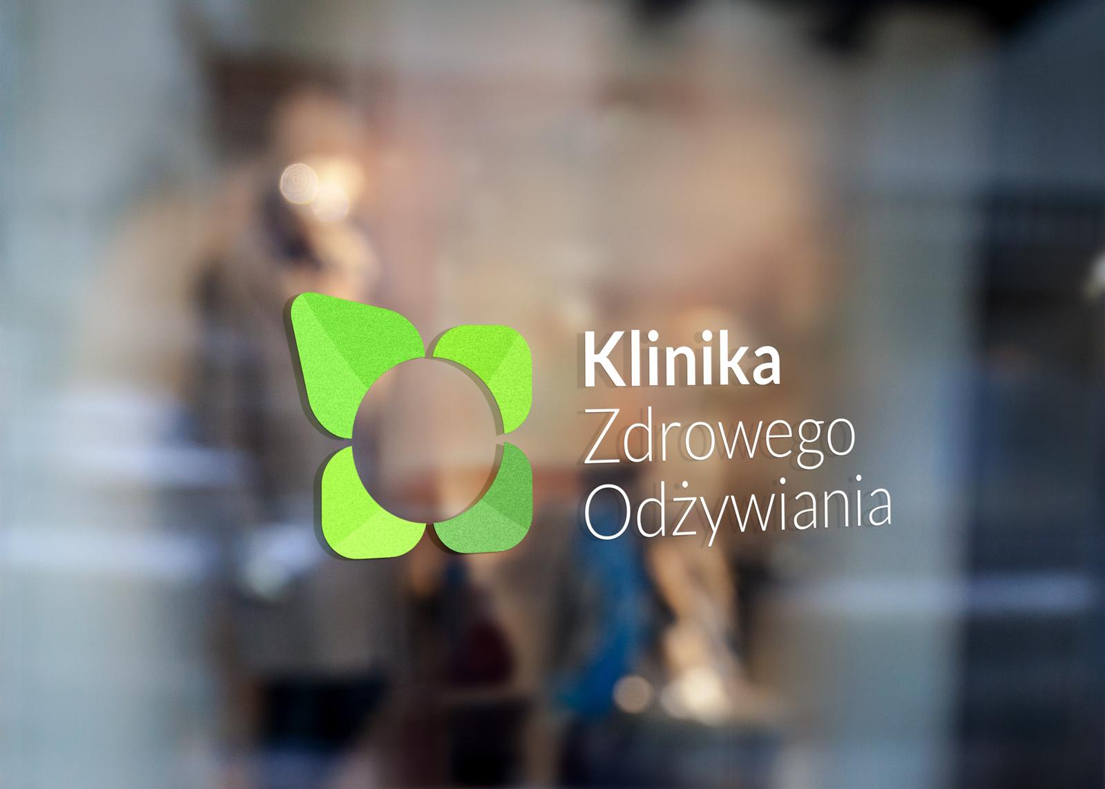 Wizualizacja logo na witrynie
