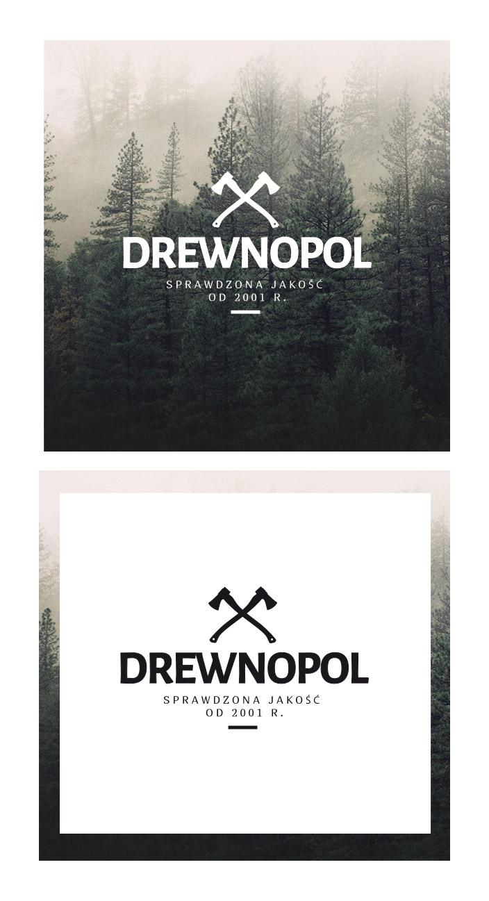 Drewnopol - projekt logo