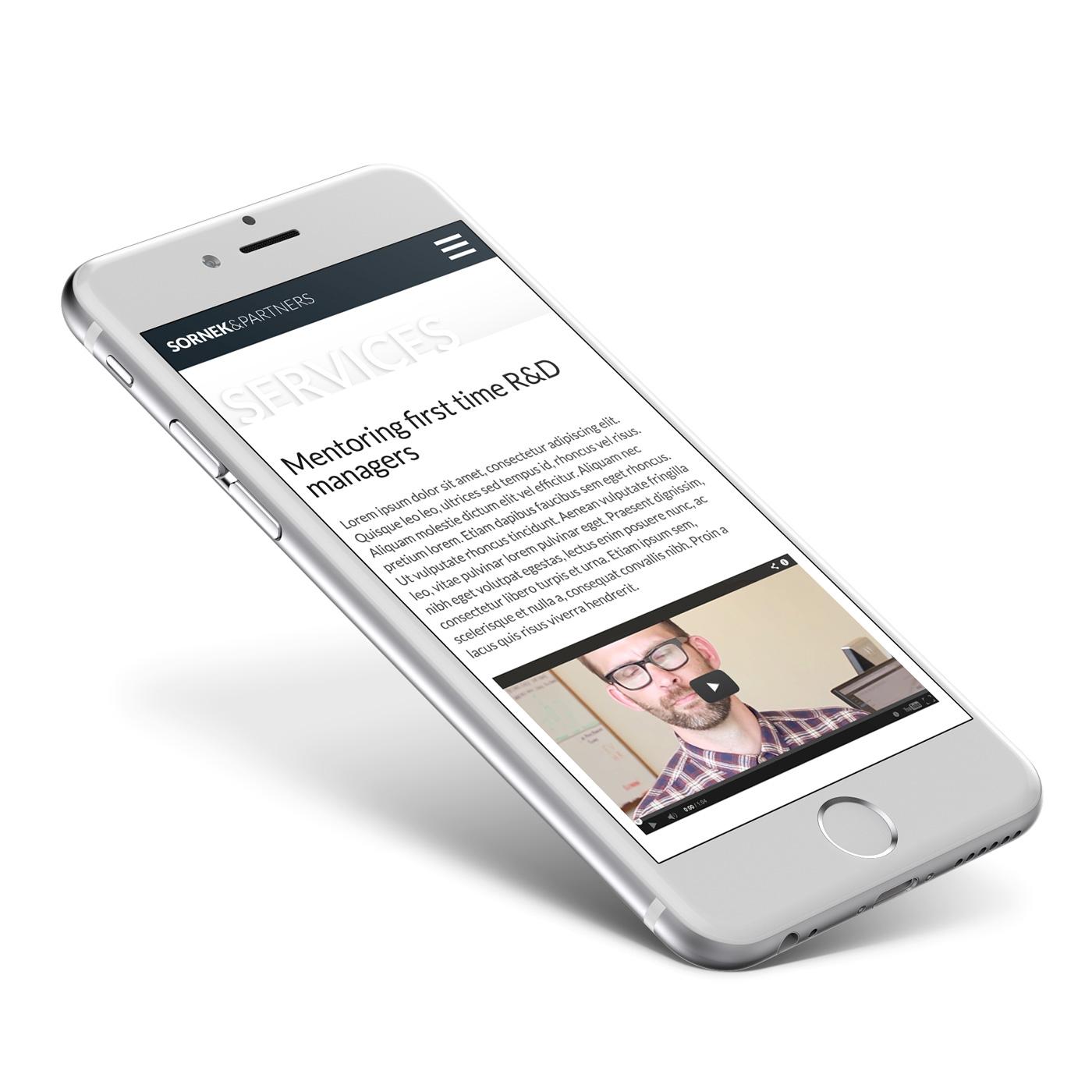 Sornek & Partners - mobilna strona www