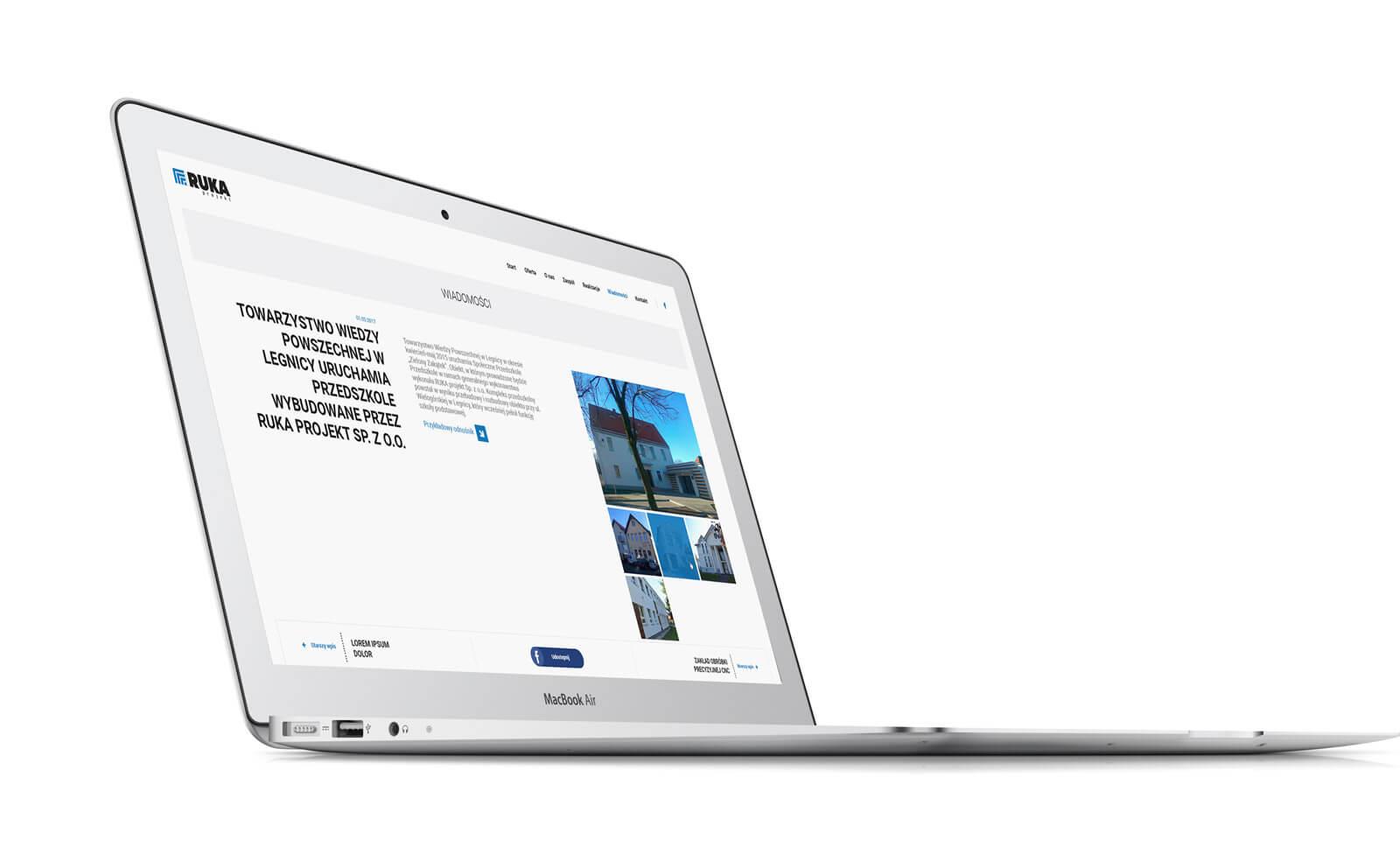RUKA Projekt - laptop