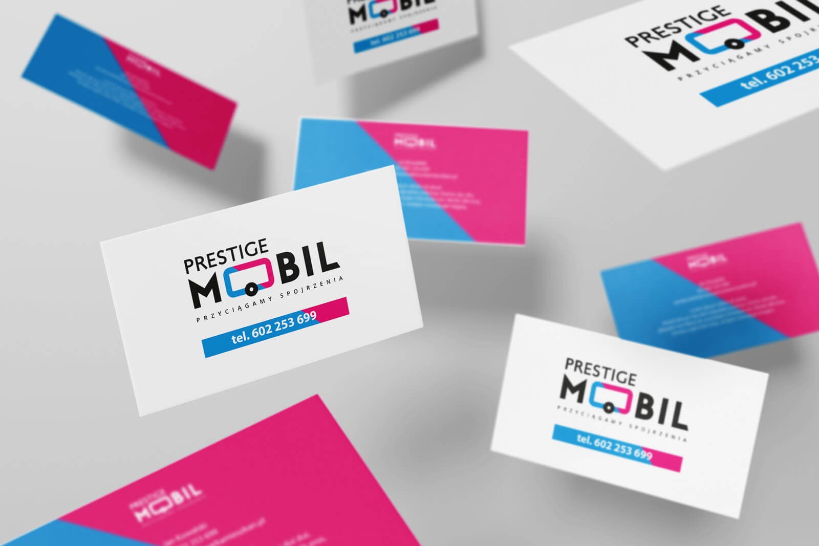 Prestige Mobil - wizytówka