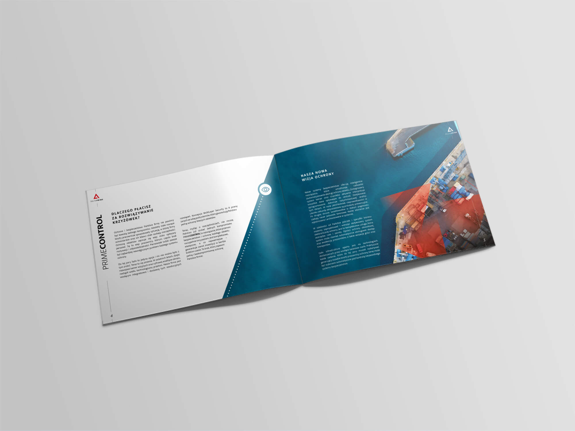 DELTAPRIME wizualizacja katalogu / broszury - poligrafia