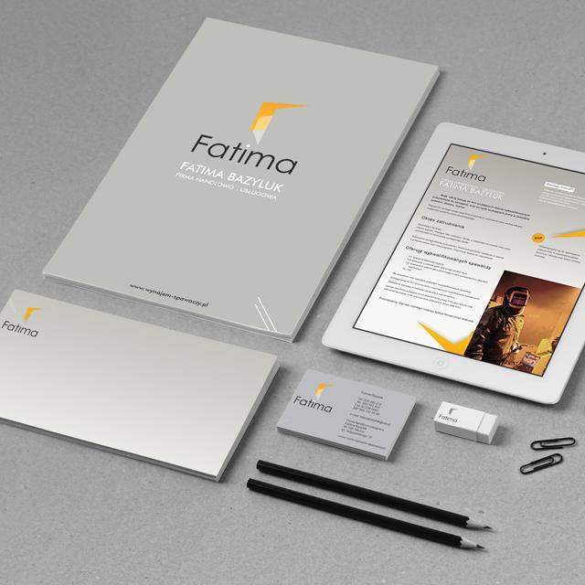 Fatima - pełna identyfikacja wizualna oraz strona internetowa