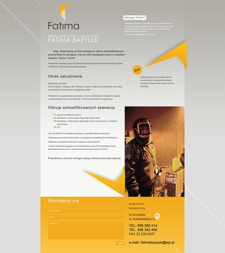 Fatima - strona www