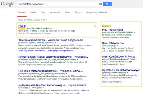 Reklama w Google AdWords