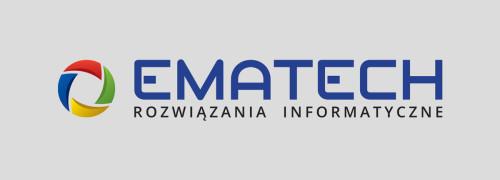 Ematech - projekt logo