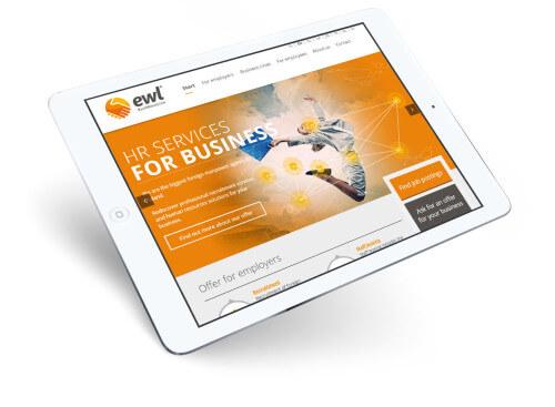ewl strona www - tablet