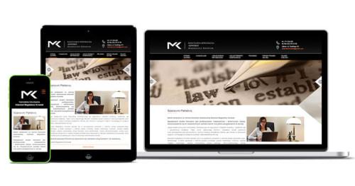 Nowoczesna, responsywna strona internetowa dla adwokata