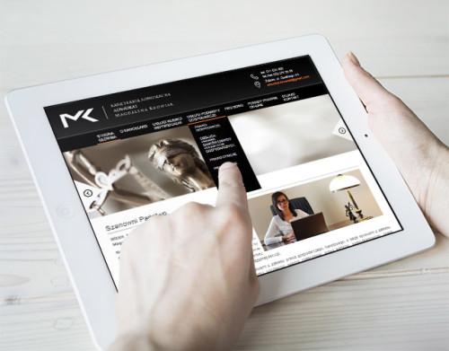 Strona internetowa dla kancelarii prawnej / adwokata