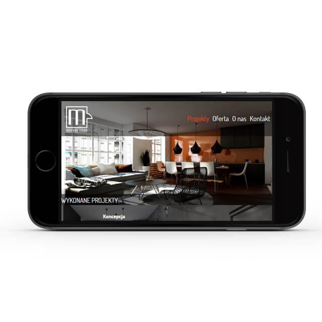 Mobilna strona internetowa Morphina Studio