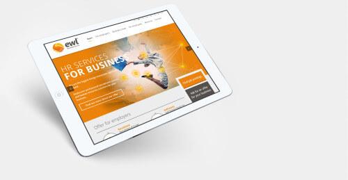 EWL - strona internetowa / serwis z ofertami pracy