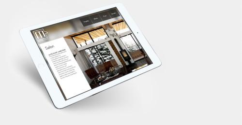 Strona internetowa architektów wnętrz: Morphina Studio