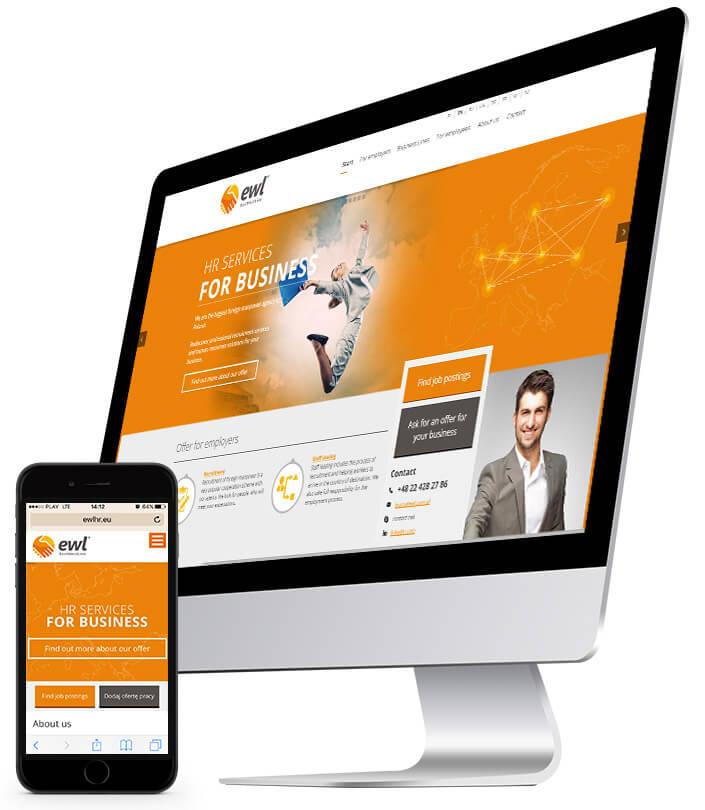 Nowa strona internetowa EWL - w technologii RWD