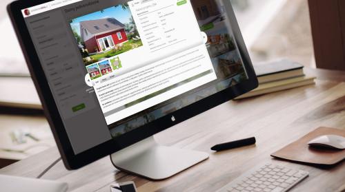 Nowoczesny serwis internetowy z wyszukiwarką projektów