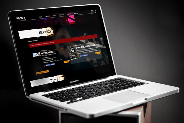 Strona www dla klubu muzycznego