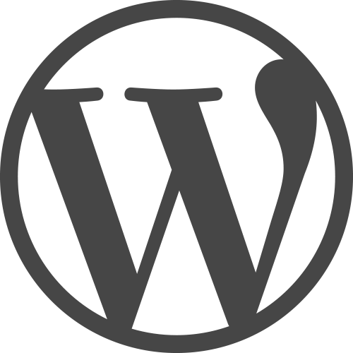 Wordpress logo sygnet