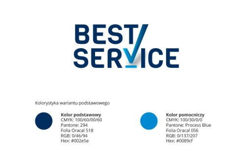 Best Service - specyfikacja logo