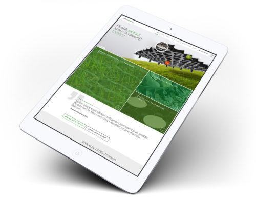 Stella Green - strona internetowa w wersji mobilnej, na tablecie