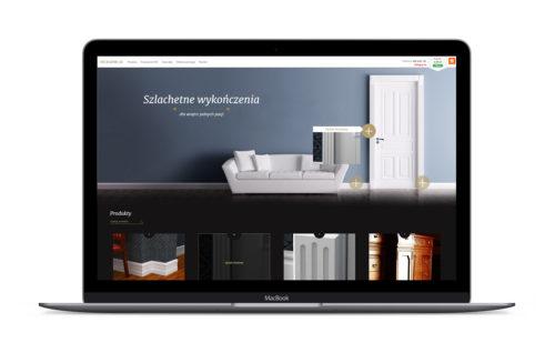 Stolarnia24 - projekt strony internetowej, sklepu internetowego
