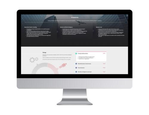 Strona www dla BIRS - projekt strony