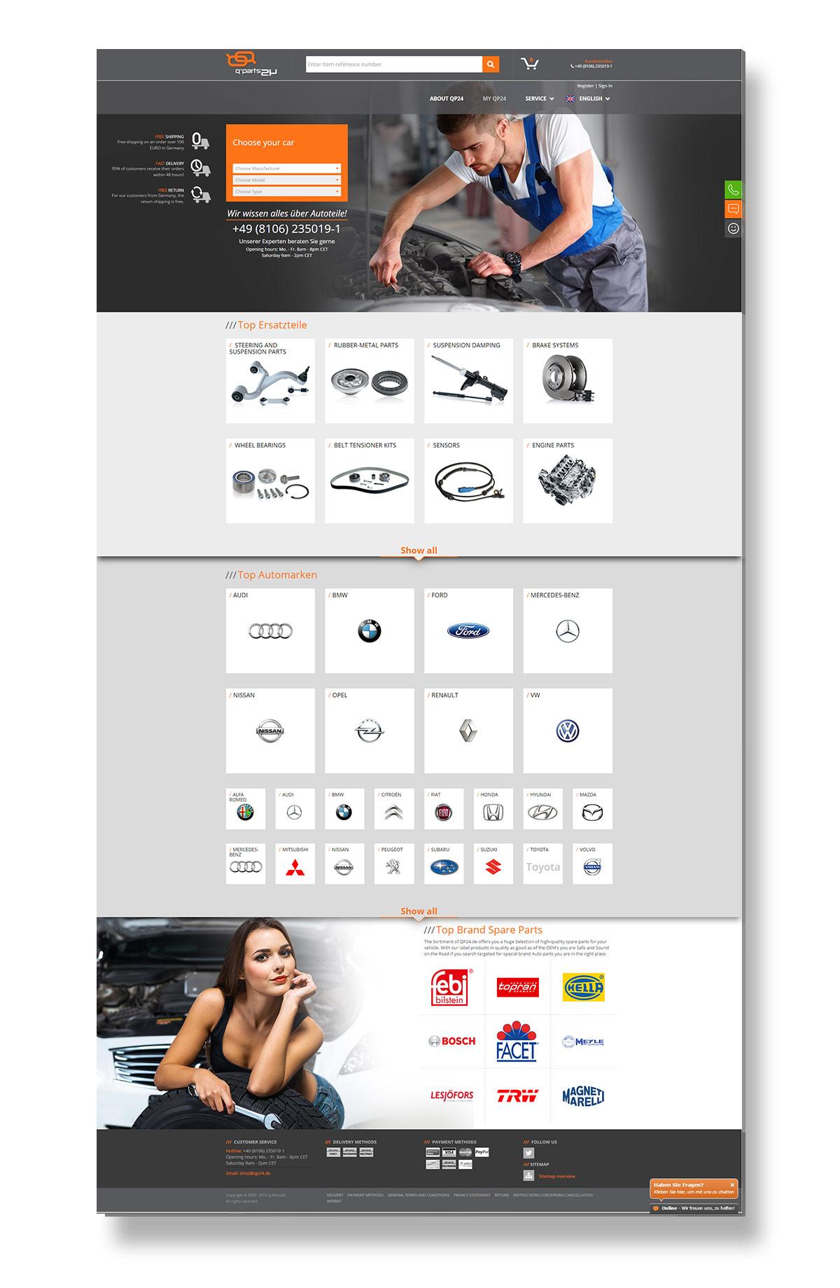 Qparts24-niemiecki-sklep-motoryzacyjny-ecommerce-projektowanie-sklepow-internetowych