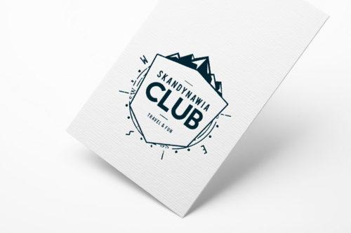 Skandynawia Club - identyfikacja wizualna - projekt logo