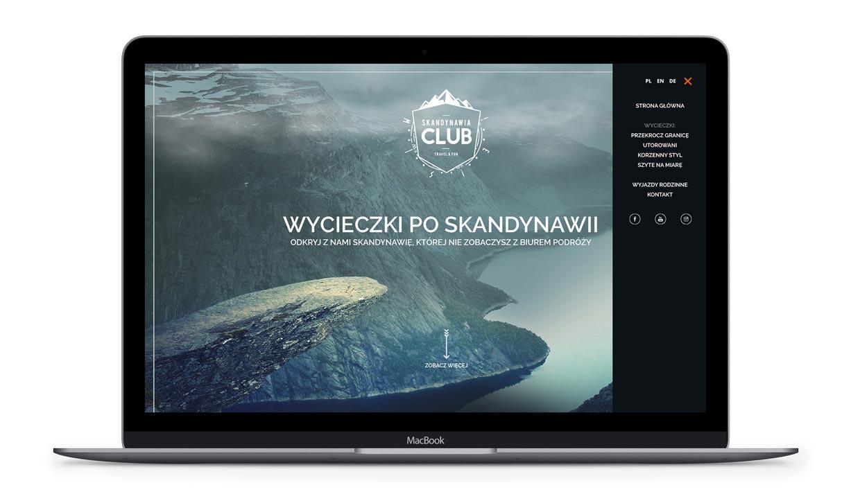 Skandynawia Club - strona internetowa