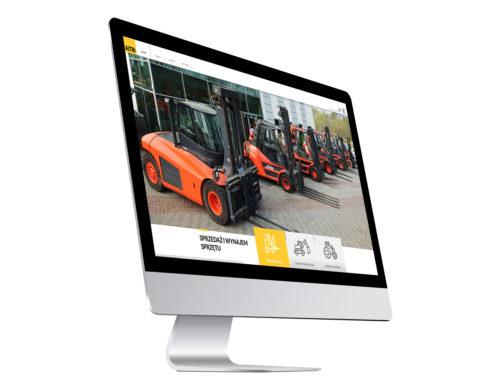 Strona internetowa Altri - nowoczesna minimalistyczna strona bauhaus