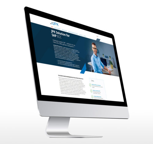 JPK strona internetowa projekt