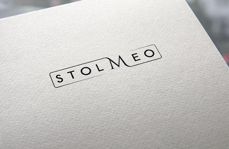 Stolmeo - projekt logo w ramach identyfikacji wizualnej dla firmy produkującej meble