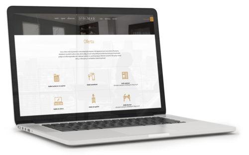 Stolmeo - programowanie strony internetowej - ikony, nowoczesna