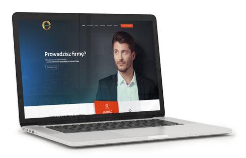Certyfikat Konsumencki Dobra Opinia - strona internetowa - projekt