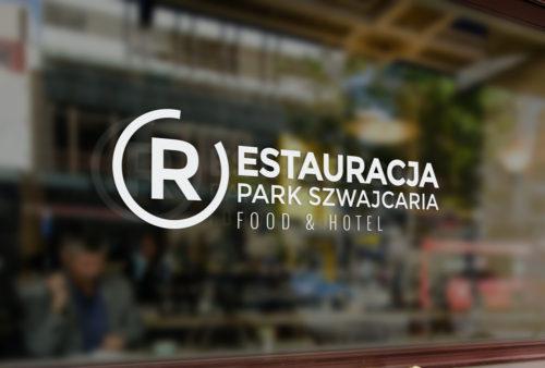 Restauracja Park Szwajcaria - Gliwice - projekt logo