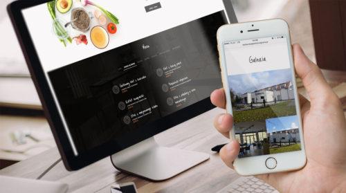Restauracja Park Szwajcaria w Gliwicach - nowa strona internetowa, identyfikacja wizualna, logo, wizytówki